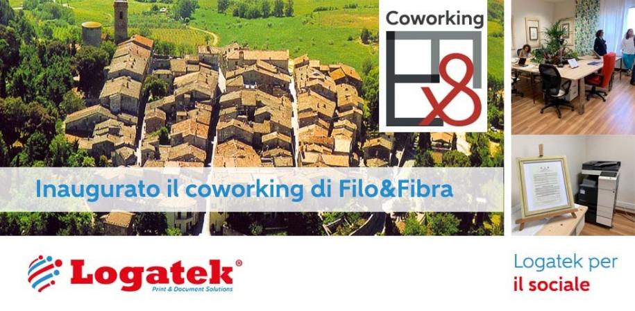 Logatek per il sociale: Investe in una Partnership per il Coworking di Filo&Fibra