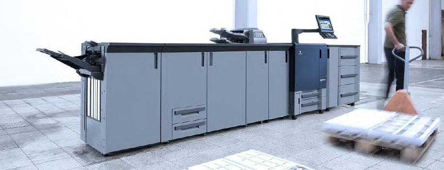 La bizhub PRESS C71hc nel nostro showroom