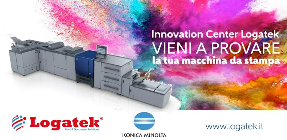 Provare per credere. L'Innovation Center di Logatek ti fa testare le migliori macchine da stampa.