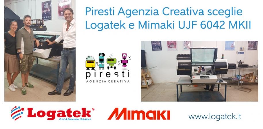 CASE HISTORY – Piresti Agenzia Creativa sceglie Logatek e Mimaki UJF 6042 MKII
