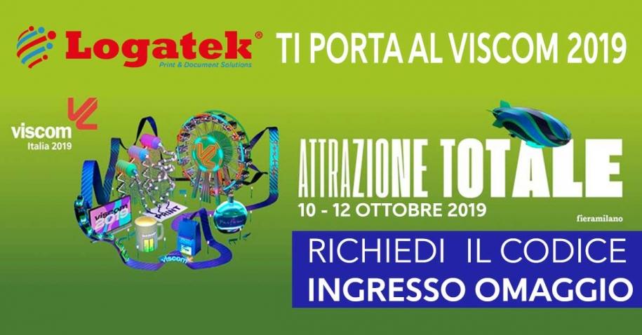 Logatek ti invita al Viscom Italia 2019