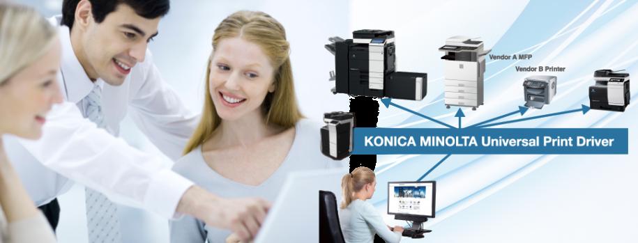 Aumenta la produttività e riduci i costi con Universal Print Driver