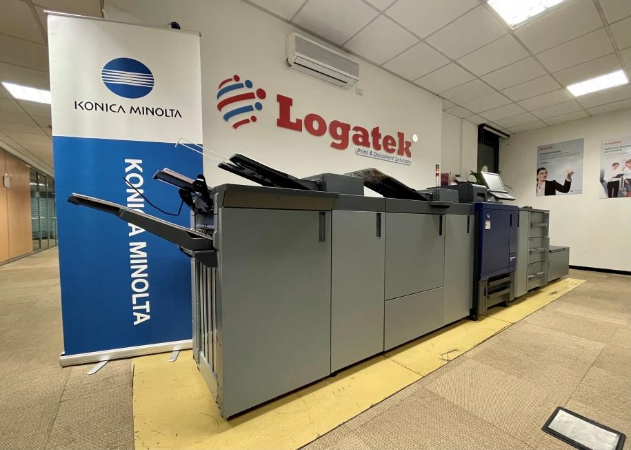 In Logatek si continua ad installare la nuova serie Accurio Press di Konica Minolta