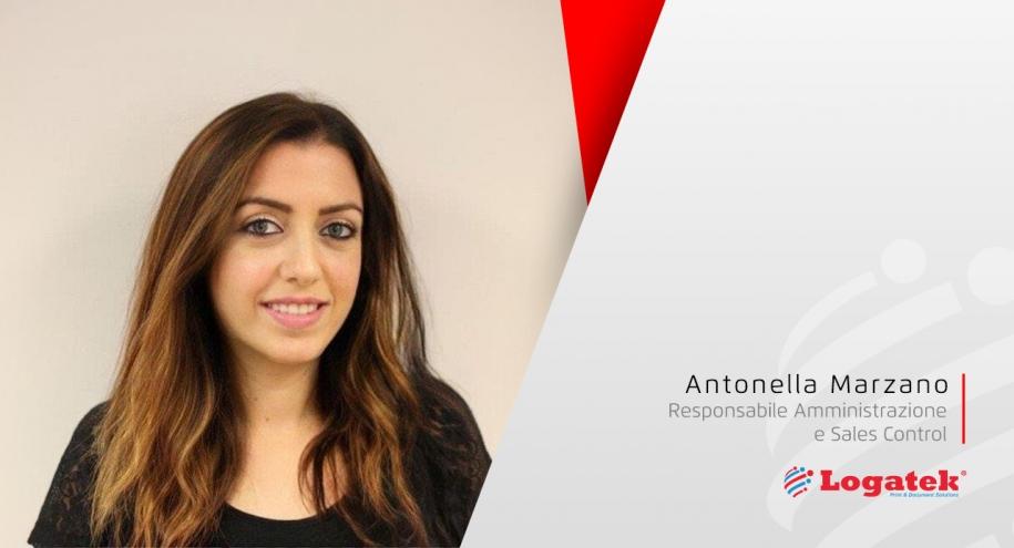 I Volti di Logatek | Antonella Marzano (Responsabile Amministrazione e Sales Control)