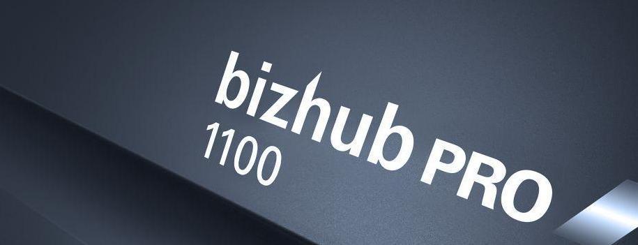 Konica Minolta bizhub PRO 1100, la nuova generazione di stampanti entry-level in bianco e nero