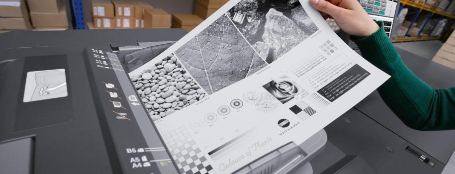 Una nuova era per la stampa monocromatica