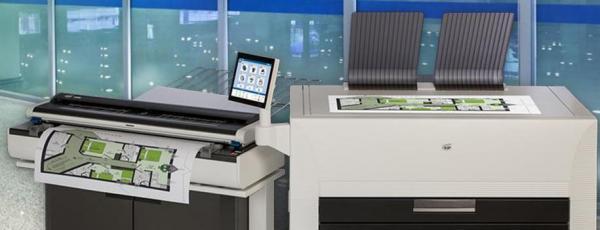 La serie KIP 800, la soluzione completa per per una varietà di applicazioni di stampa in grande formato