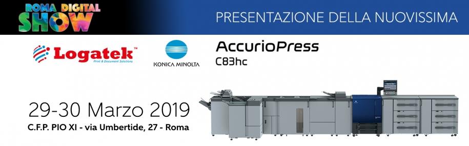 Roma Digital Show: presentazione della nuova Accurio Print C83HC