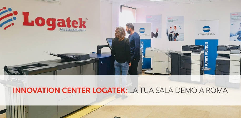 Fai una demo, vieni all' Innovation Center Logatek.