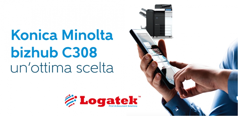 Konica Minolta bizhub C308: un'ottima scelta.