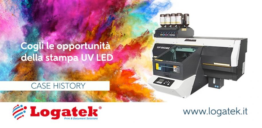 Stampa UV LED. Come crescere con la Mimaki UJF-3042MkII.