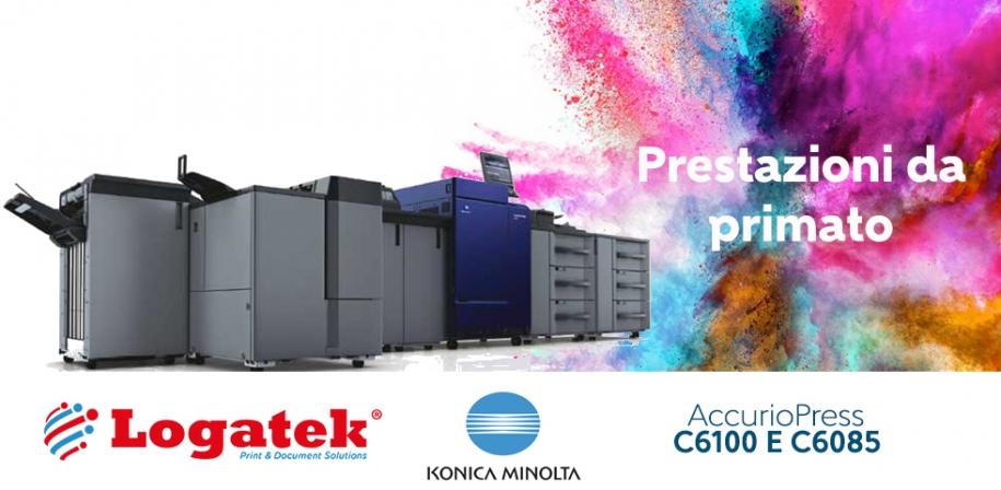 Konica Minolta AccurioPress C6085: prestazioni da primato