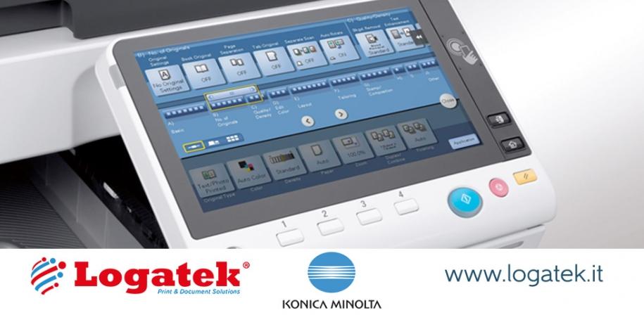 Stampanti multifunzione Konica Minolta: la qualità degli schermi