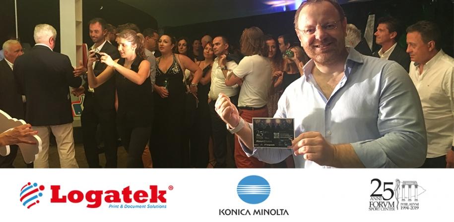 25 anni di Forum Sport Center festeggiati con Logatek e le innovazioni tecnologiche di Konica Minolta